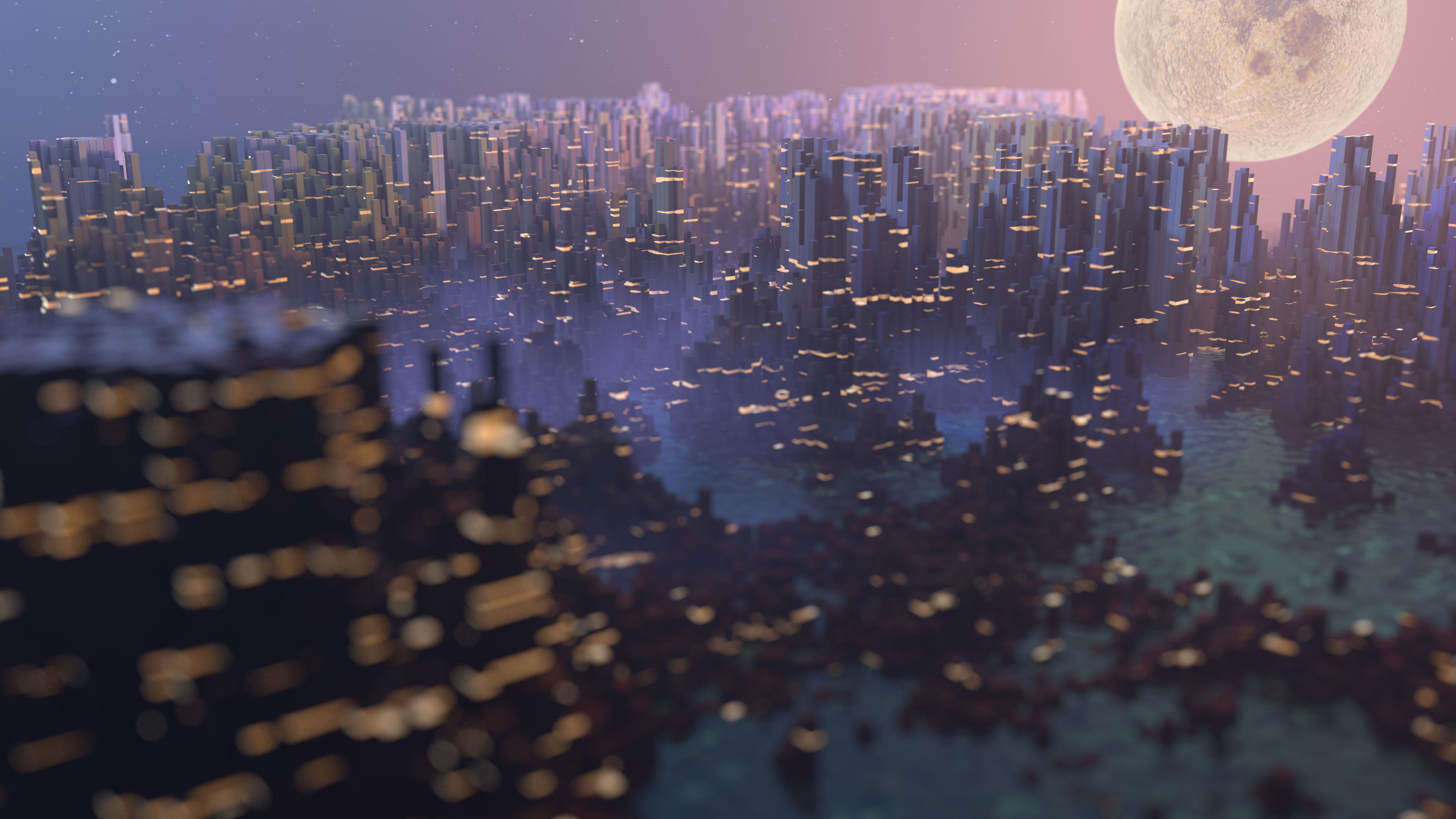city 4k__2